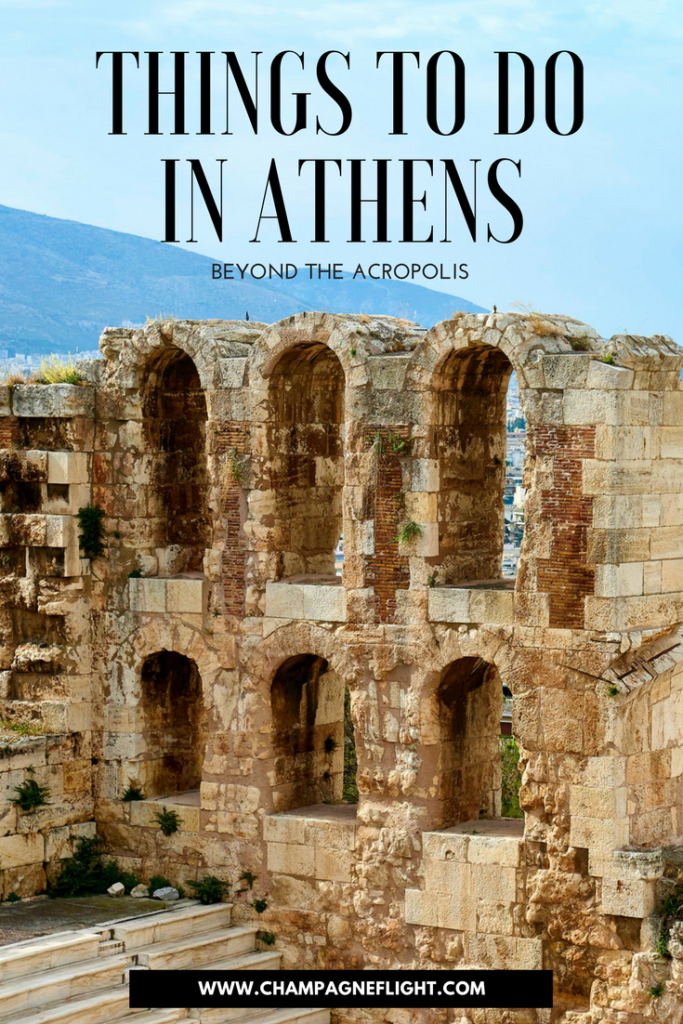 A trip to Athens doesn't have to be just a trip to the Acropolis. Athens has some incredible things to offer. Click through to read about the top things to do in Athens, Greece beyond the Acropolis #wanderlust #greece #travel