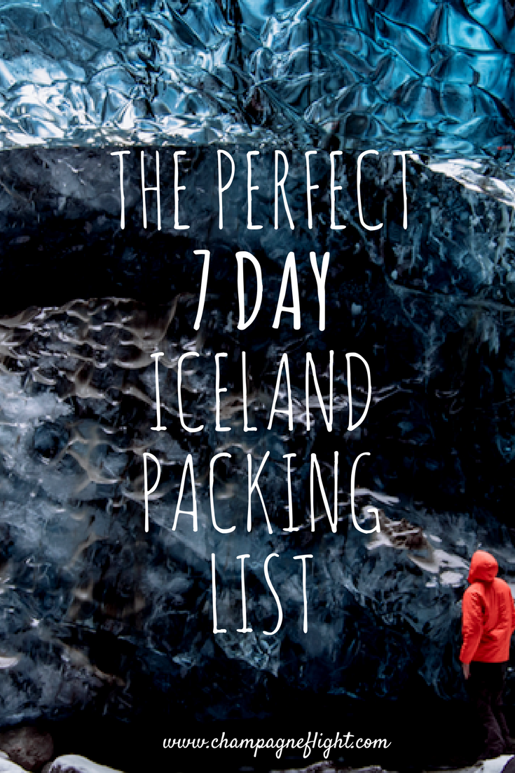 The perfect 7 day Iceland packing list. This list is also great for camping in Iceland.