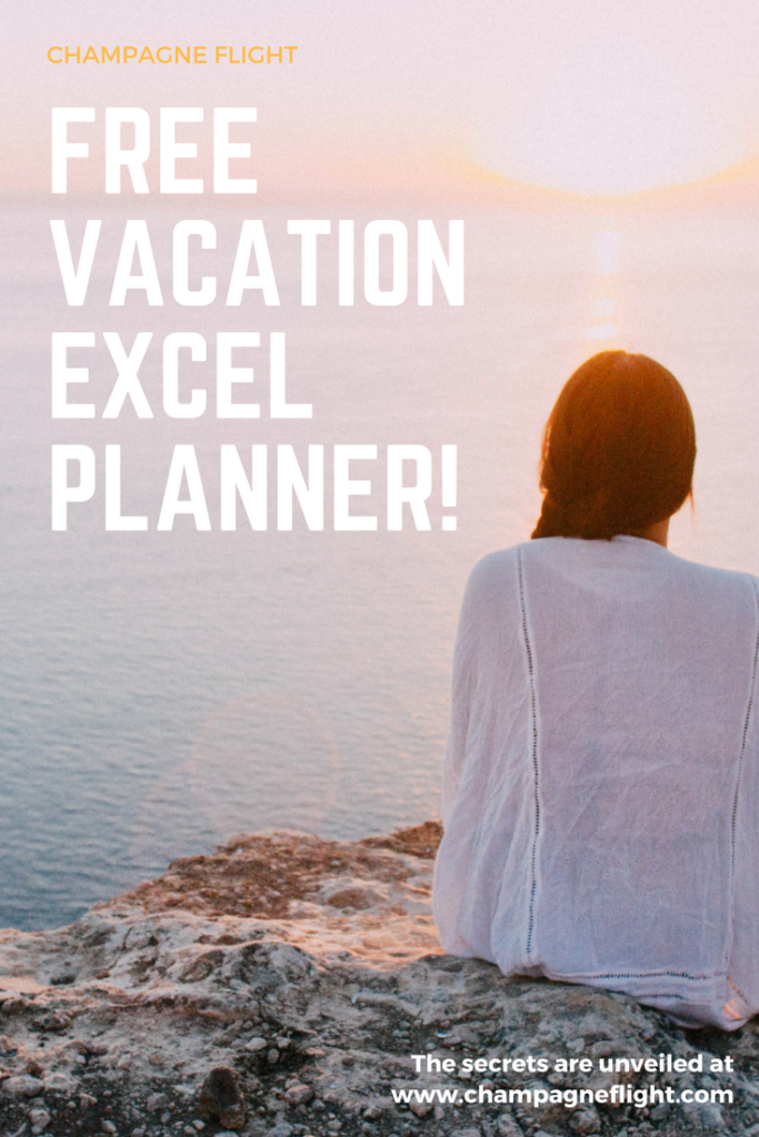 Looking to maximize your vacation days? This free vacation excel planner will help you do just that! It'll help you map out your days and plan a full year of travel #travel #wanderlust #vacation #planner #plan a vacation