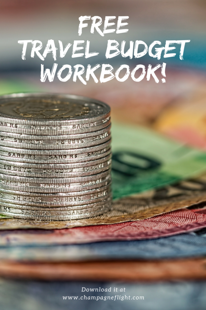 Need help creating a budget for your next trip? Download this workbook which will help take you step by step through all you need to consider for an accurate travel budget
